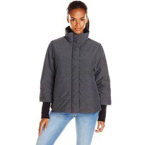 PrAna Women's Lily Puffer Jacket Grey Small/Med